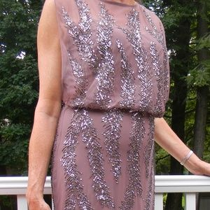 Aidan Mattox Sequin Semi-Formal Dress Gown Size 10
